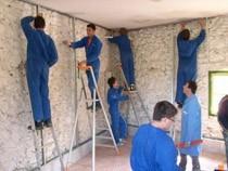 ремонт стен помещений Волжский