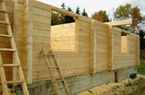 строительство домов из бревен Волжский