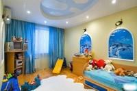 Отделка детской комнаты в Волжском